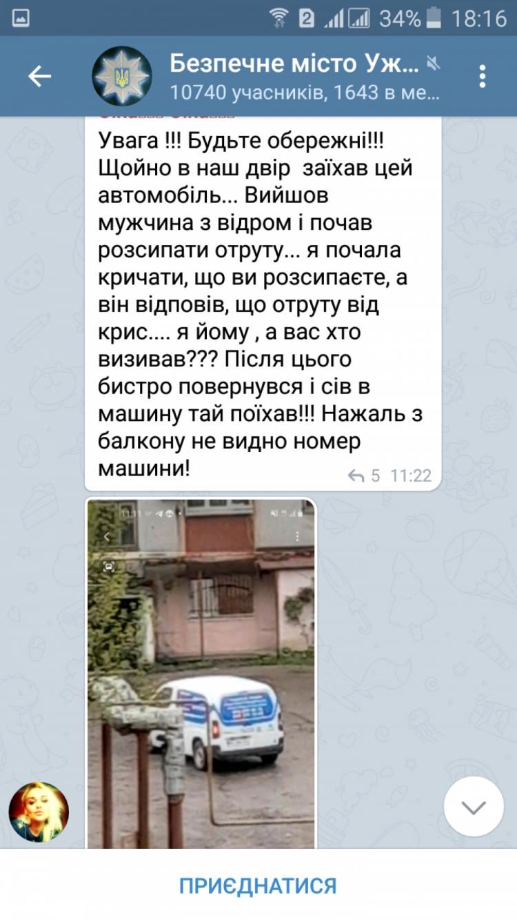 """""""Увага! Ось така отрута... Н жаль собаки вже побували"""", - в Ужгороді ймовірно орудує отруювач тварин"""