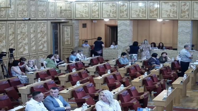 На сесію облради прийшли всього 35 депутатів